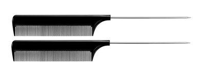 haarsoires-puntkammen-zwart