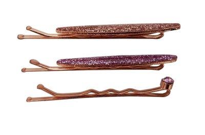 schuifspeldjes-ovaal-glitter-koper