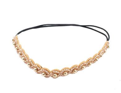haarband-kralen-parel-goud-bruin