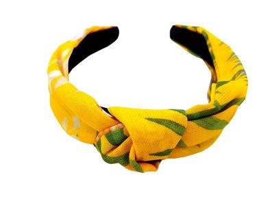 diadeem-knoop-leaves-geel