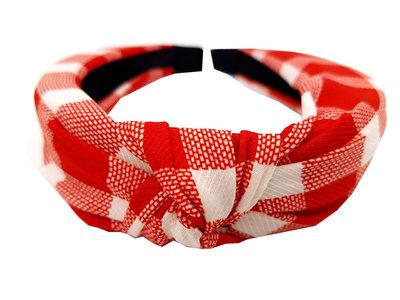 diadeem-knoop-ruit-rood-wit