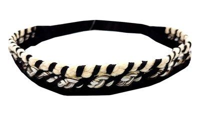 haarband-gevlochten-zwart-wit