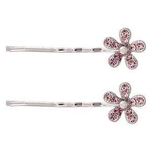 schuifspeldjes-bloem-strass-zilver-roze