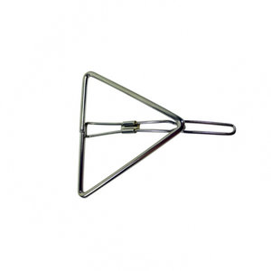 haarclip-driehoek-zilver