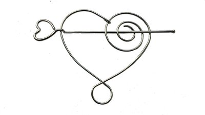 haarspeld-pin-hart