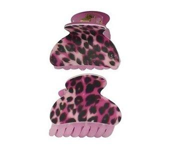 haarklemmen-panter-print-roze