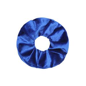 scrunchie-haarelastiek-velvet-blauw