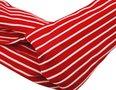 Haarband Twist Streep Patroon Wit Rood