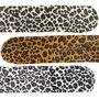 Knotrolband Groot Velvet Panter Print