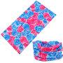 Haarband multifunctioneel roos roze blauw